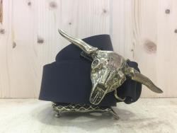 Cinturon Con Hebillas De Cabeza De Animales